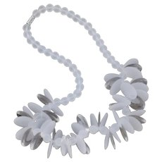 Poetic Lucite Necklace with a Touch of Sassy