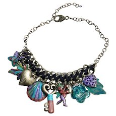 Chimayo Charmed Necklace with Love & Butterfly