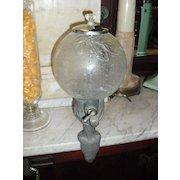Circa 1920's  Lash's Soda Fountain Syrup Dispenser