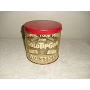 Gold Tip Gum Advertising Display Can Circa 1930's