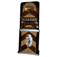1934 Rowe Professionally Re-stored Ten Cent Cigarette Vending Machine ~ Very Art Deco