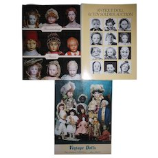 Lot of 3 auction catalogs