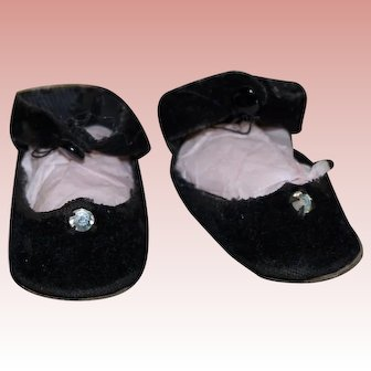 Wonderful pair of 1950's doll shoes