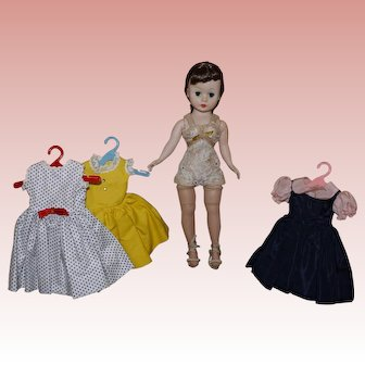 Madame Alexander Cissette with extra Dresses