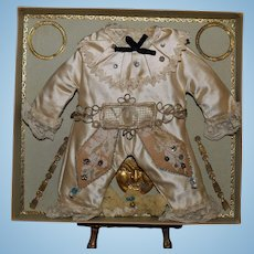 Superb French Bebe Costume in presentation box