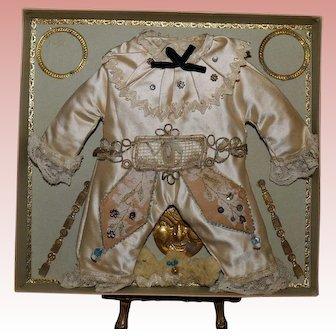 Superb French Bebe Costume in presentation box