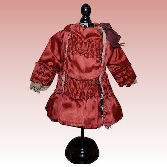 Small dress for antique doll