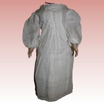Antique original Chemise dress for German doll