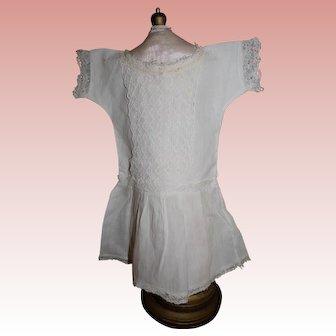Factory antique cotton muslin chemise