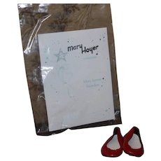 Mary Hoyer by Mary Lynn Saunders MIP red shoes
