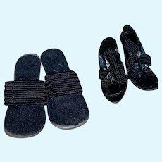 Vintage high heel shoes for teenage doll