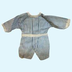 Little boy jumpsuit for antique doll