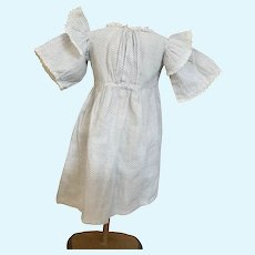 Antique doll dress for Antique child doll