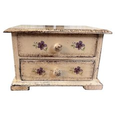 Vintage Florentine dresser box
