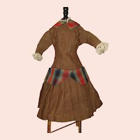 French Fashion Day Dress antique