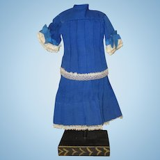 Antique French 2 piece outfit