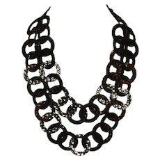 RJ Graziano Double Strand Disc Necklace