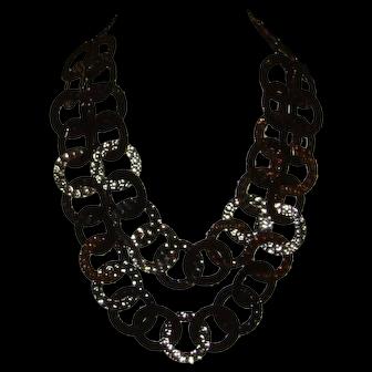 RJ Graziano Double Strand Disc Necklace