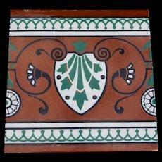 Minton, Hollins, & Co Encaustic Tile