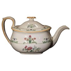 Wedgwood Charleston Design Teapot, England, Mint - Red Tag Sale Item