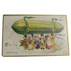 St Patrick's Ellen Clapsaddle Postcard, 1911