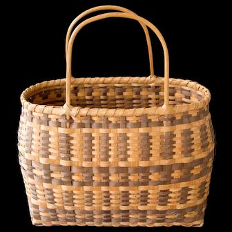 Carolina Cherokee Hard woven Basket