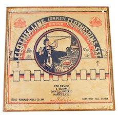 Vintage Original Laundry Metal Advertising