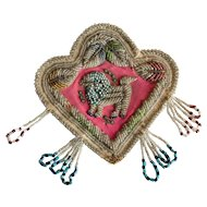 Iroquois Beaded Pouch