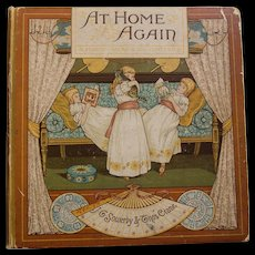 Victorian Children's Book. At Home Again,1886