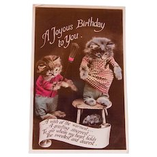 Photo Birthday Card with Kittens