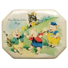 Three Little Pigs Tin