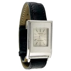 "Tiffany & Co 18K White Gold ""The Schlumberger"" Ladies' Wristwatch, c. 1990-2000"