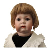 """K*R 115A - 18"""", perfect bisque, side hip jointed toddler"""