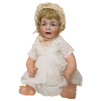 """K*R 116A baby - 15 1/2"""", perfect bisque"""