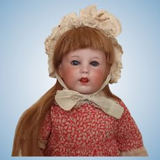 "SFBJ 251 character girl - 13"", perfect bisque, toddler"