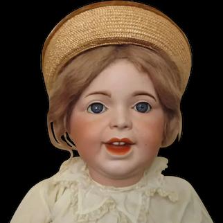 "SFBJ 236 toddler - 23 1/2"", original wig, toddler body"