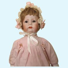 """K*R 115 Toddler girl - 18"""", perfect bisque"""