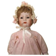 "K*R 115 Toddler girl - 18"", perfect bisque"