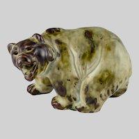 Royal Copenhagen Grizzly Bear Figurine Knud Kyhn