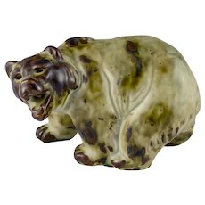 Royal Copenhagen Grizzly Bear Figurine Knud Kyhn