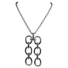 Bent Larsen  Pewter Chain on a Chain