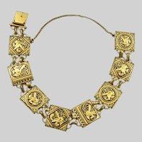 Vintage Spanish Toledo Damascene Bracelet