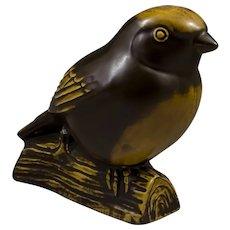 Gustavsberg of Sweden, Bird Figurine Designed by Sven Wejsfelt