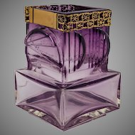 Amethyst Art Glass Vase by Pentti Sarpaneva