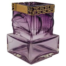 Amethyst Art Glass Vase by Pentti Sarpaneva