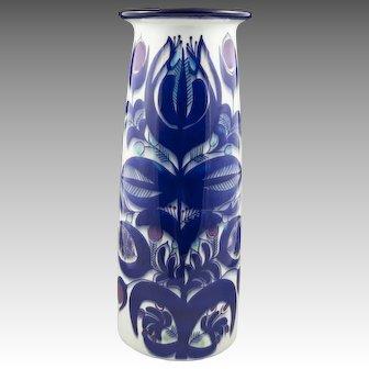 Aluminia/Royal Copenhagen Tall Tenera Vase