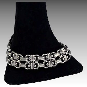 1930's Carl M. Cohr Danish .830 Silver Bracelet