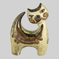 Soholm Denmark Cat Figurine Designed by Joseph Simon