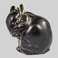 Royal Copenhagen Stoneware Bunny Figurine