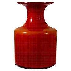 Holmegaard Glassworks Denmark Carnaby Bottle Vase